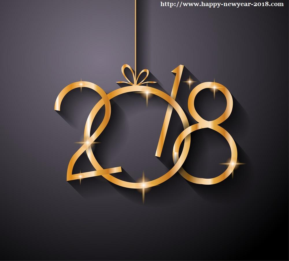 Happy New Year 2018 Desktop Wallpaper - New Year Wallpaper 2018 - HD Wallpaper
