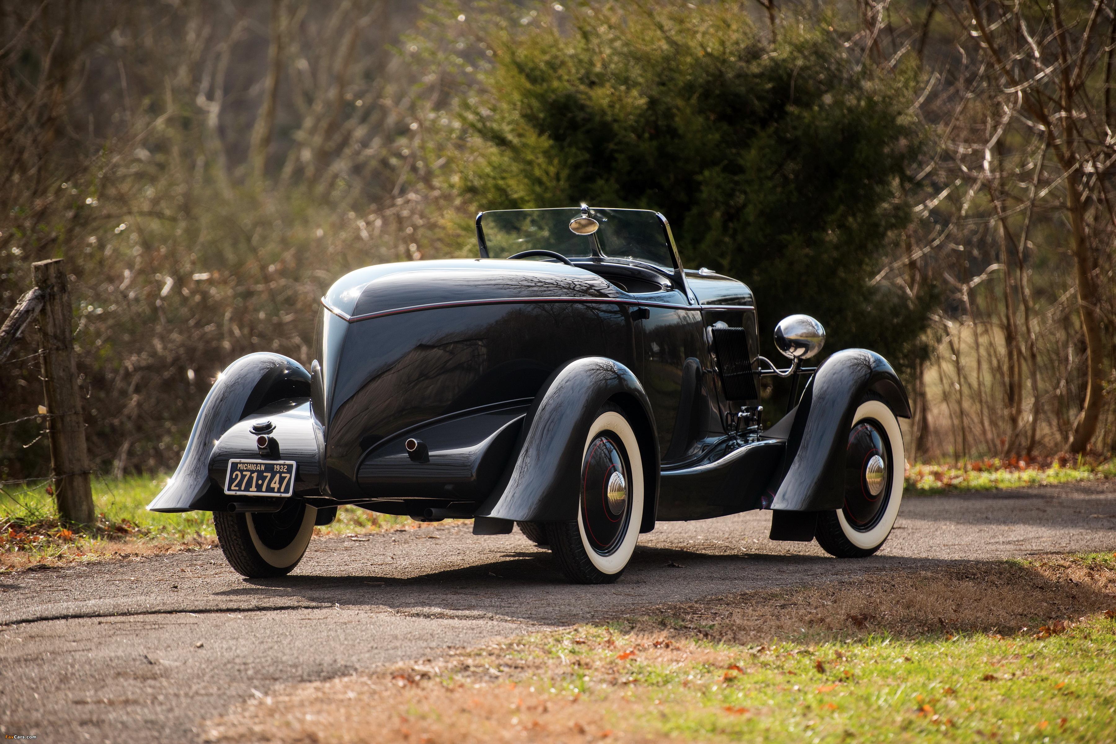 Ford V8 Special Speedster 1932 Wallpapers - Edsel Ford's 1932 Model 18 Speedster - HD Wallpaper