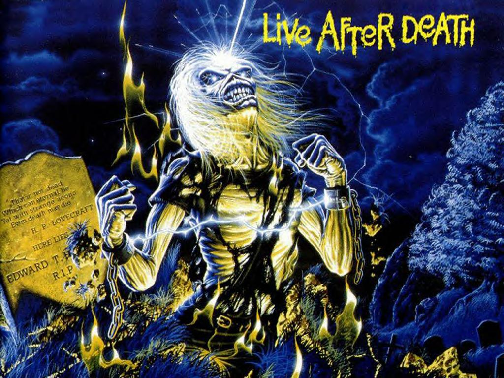 Iron Maiden - Live After Death The World Slavery Tour - HD Wallpaper