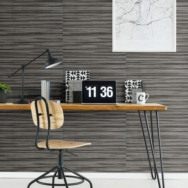 Grey Horizontal Striped Wallpaper Uk - HD Wallpaper