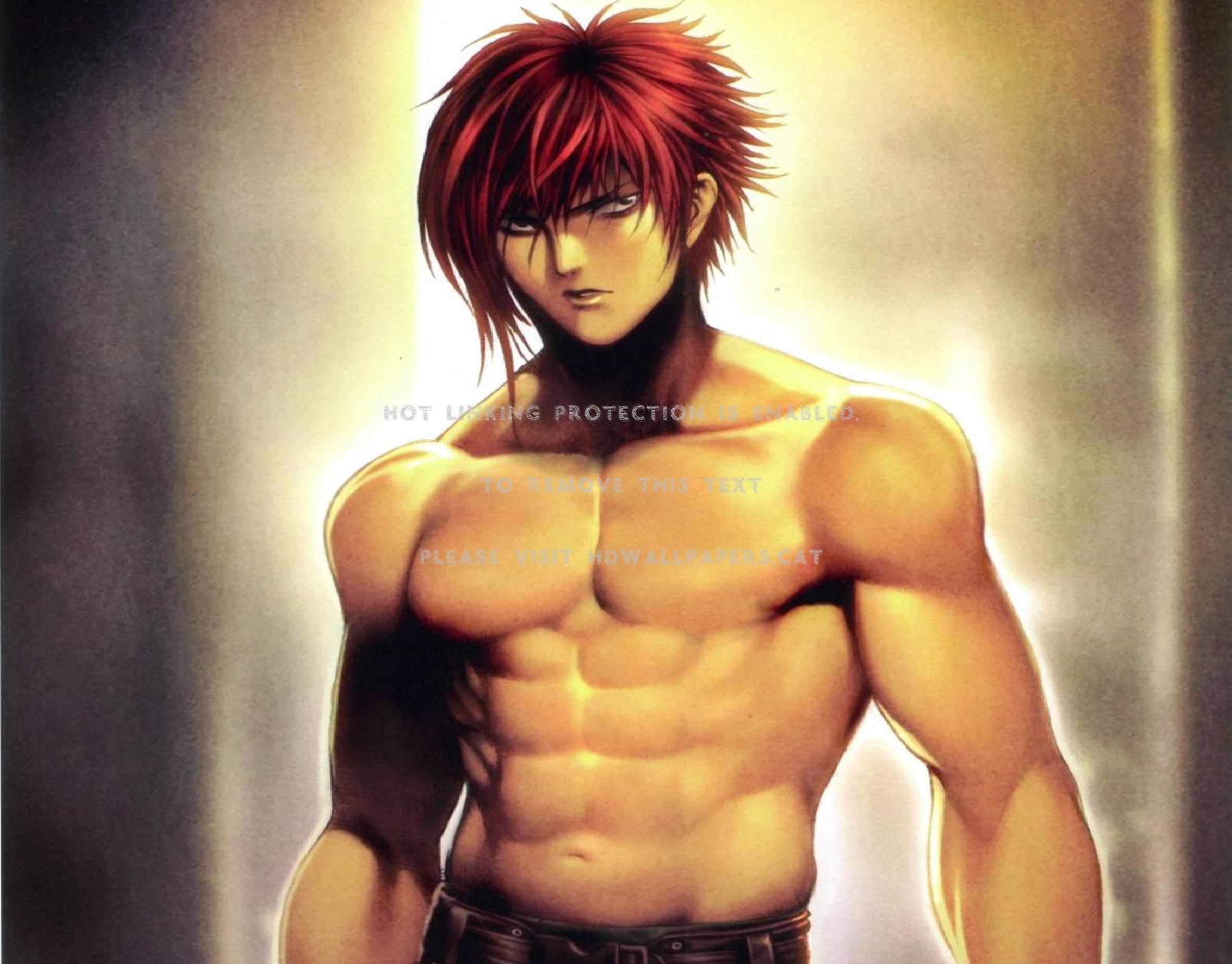 Baki The Grappler Hanma Muscles Red Hair Baki The Grappler Muscles 2364x1850 Wallpaper Teahub Io
