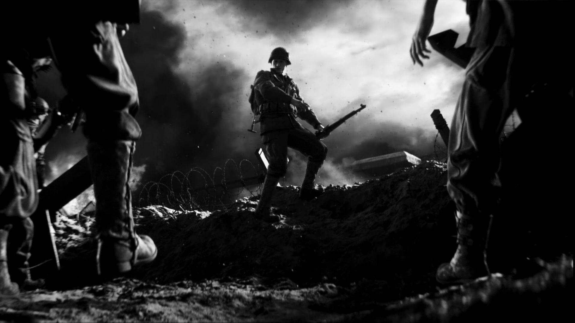 Call Of Duty Wallpaper Wwii 1920x1080 Wallpaper Teahub Io