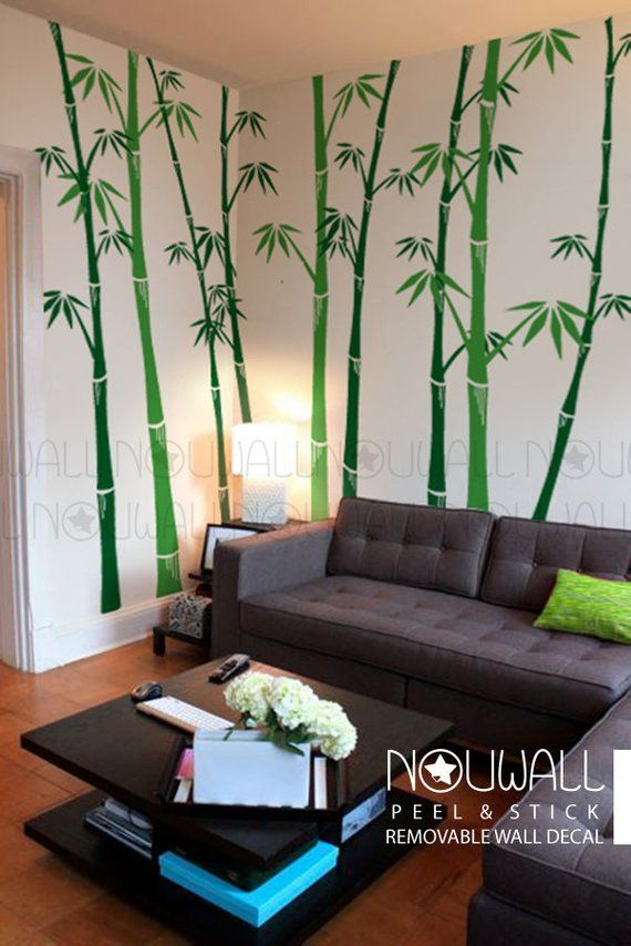 Tree Wall Painting Designs For Living Room - HD Wallpaper