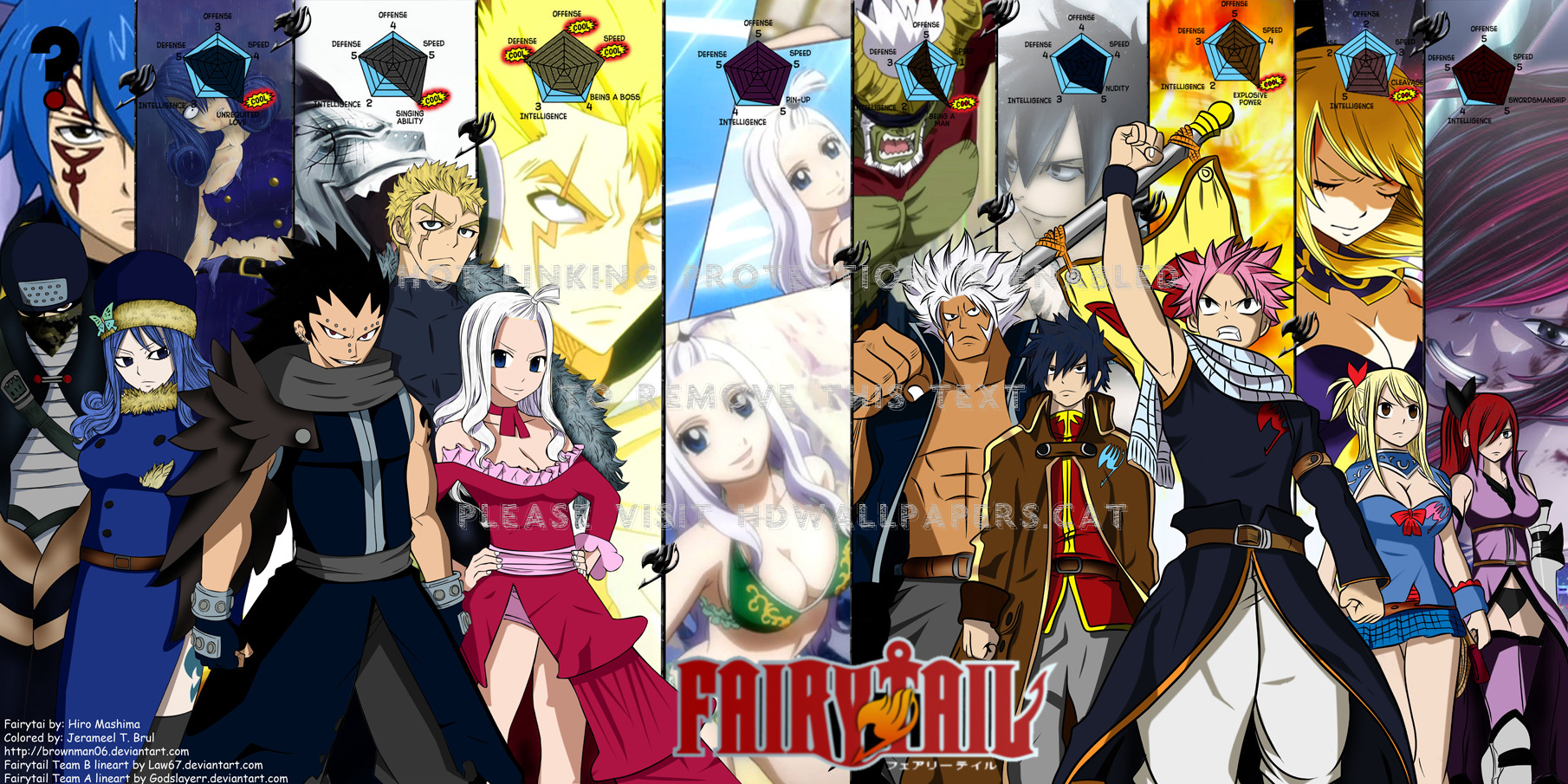 Fairy Tail Gray Fullbuster Mirajane Strauss Fairy Tail Vs Fate Stay Night 1810x905 Wallpaper Teahub Io Want to discover art related to hiromashima? fairy tail gray fullbuster mirajane