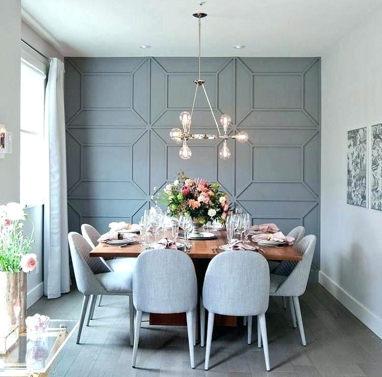Accent Wall Dining Room Ideas 750x741, Accent Wallpaper Dining Room Ideas