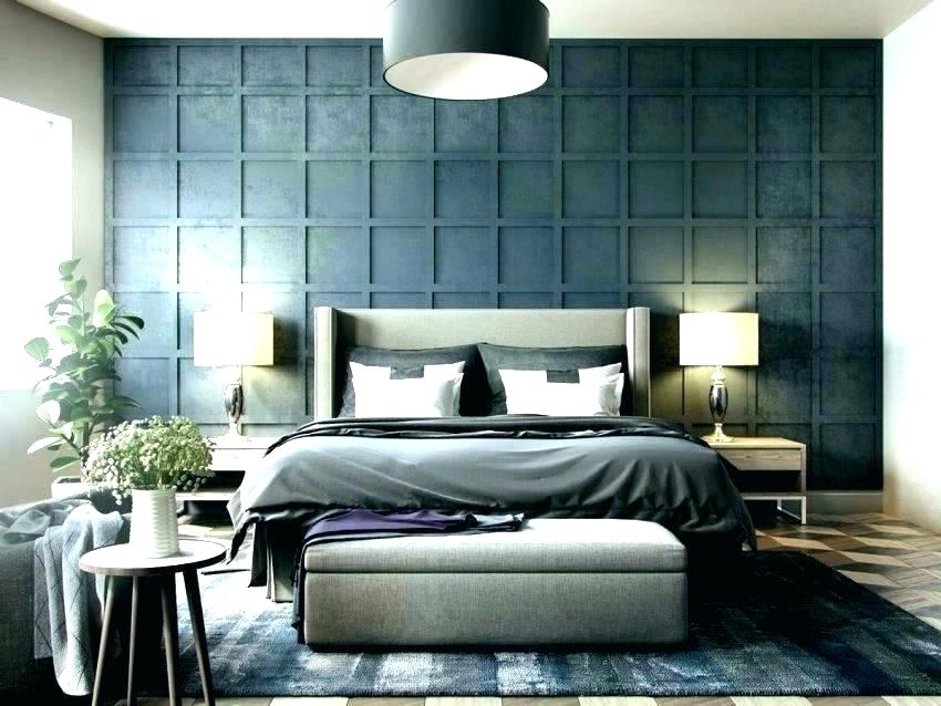 Accent Wall Ideas Bedroom Modern - HD Wallpaper