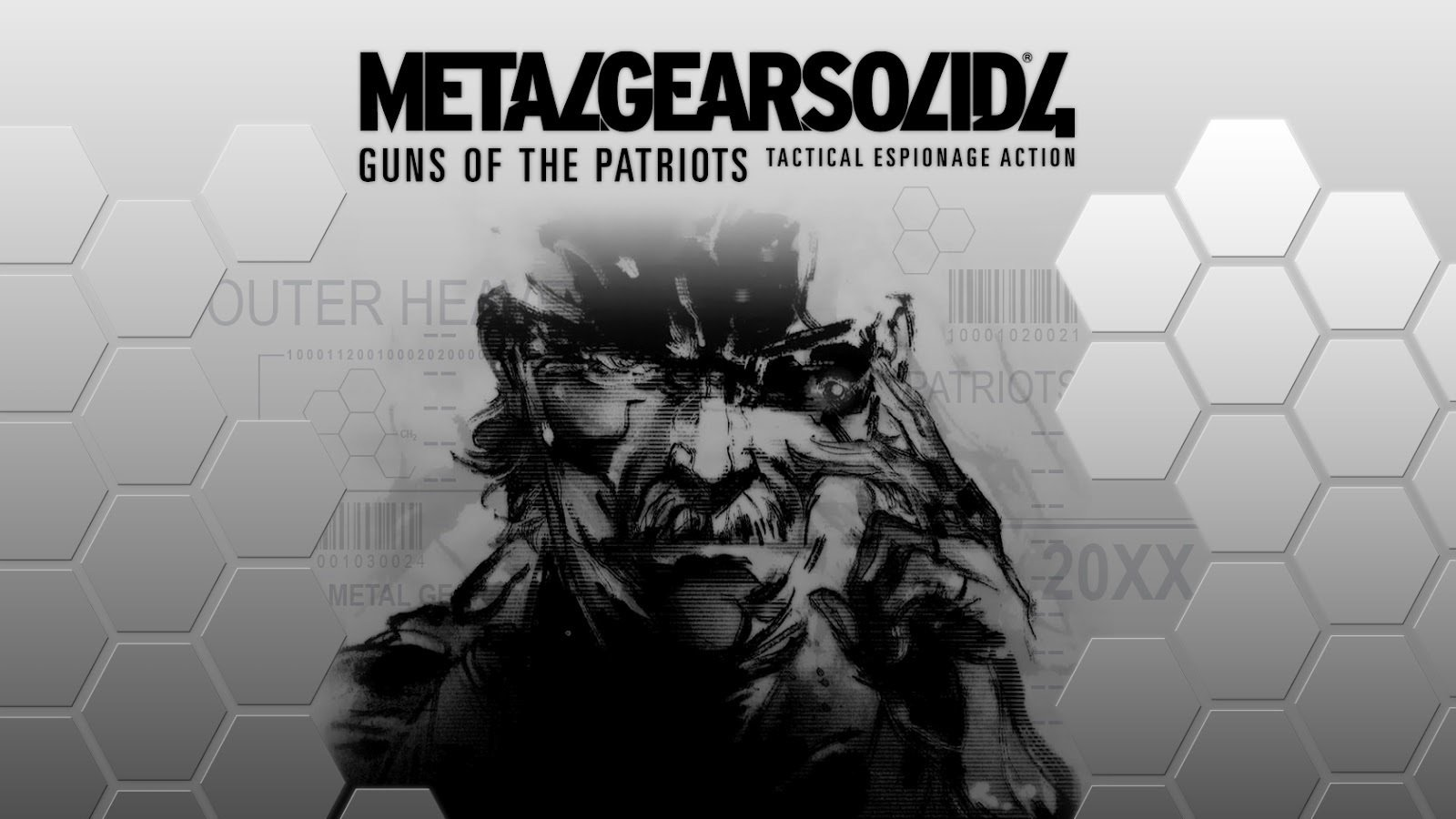 Metal Gear Solid 4 Wallpaper - Metal Gear Solid 4 Guns Of The Patriots Ost - HD Wallpaper