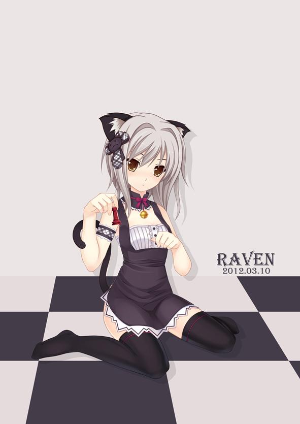 Anime, Kuroneko , Highschool Dxd, Toujou Koneko, Cat - Koneko Highschool Dxd - HD Wallpaper