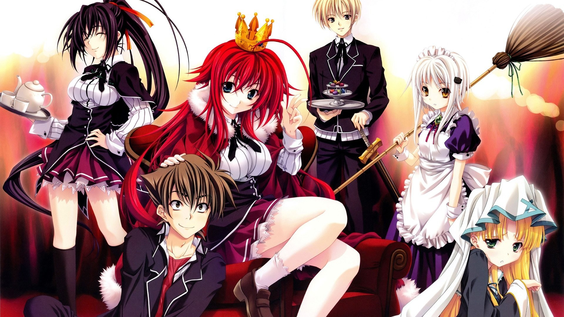 1920x1080, High School Dxd Rias Gremory Ââ - Highschool Dxd Wallpaper Full Hd - HD Wallpaper