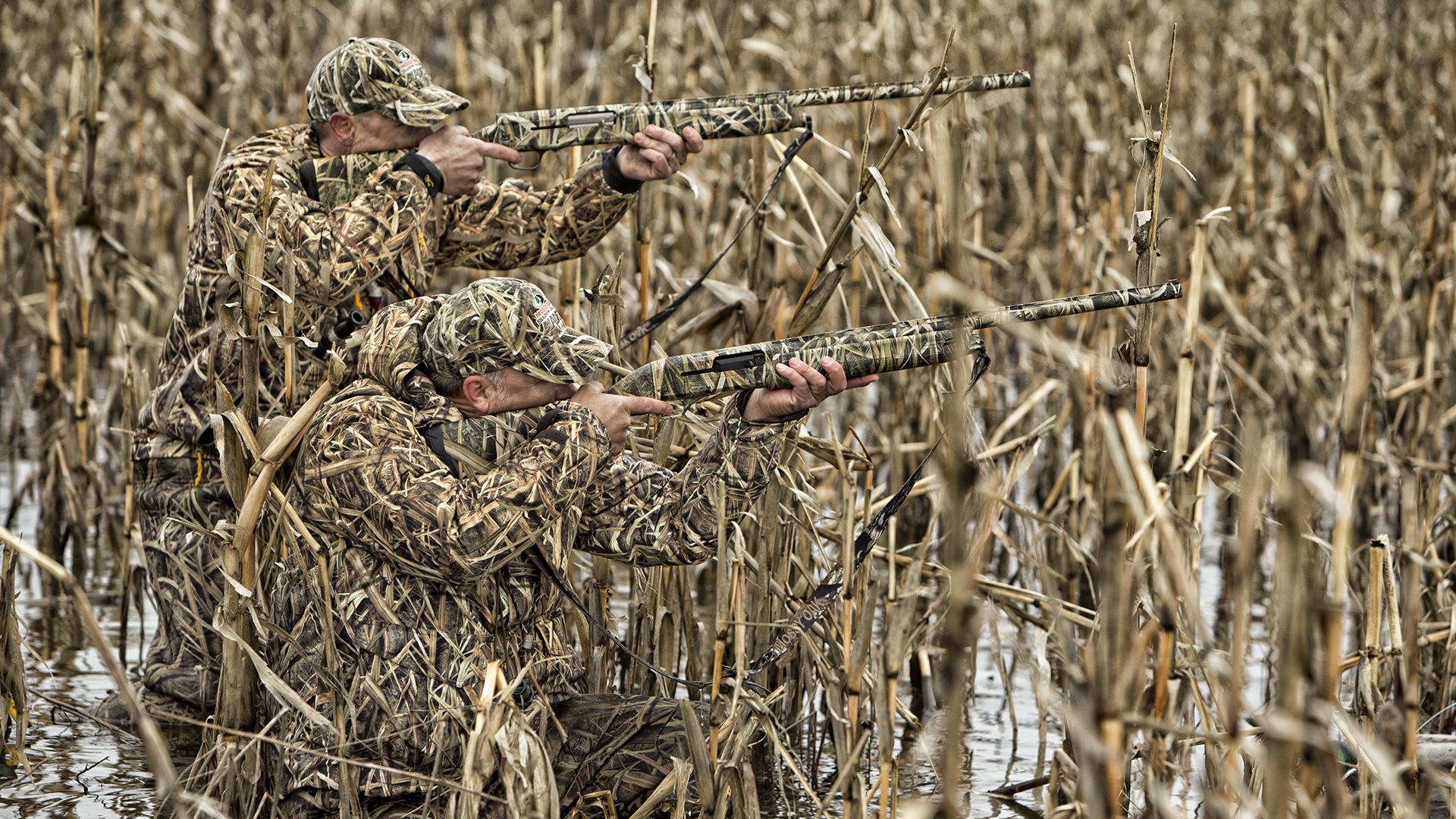 Duck Hunting Camouflage Colors - HD Wallpaper