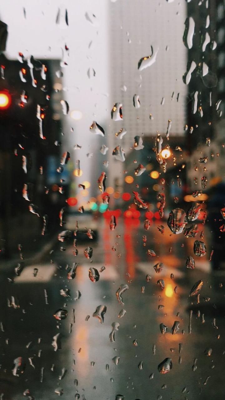 85 Amazing Iphone Wallpaper Aesthetic Dark - Artsy Wet Rain Backgrounds - HD Wallpaper