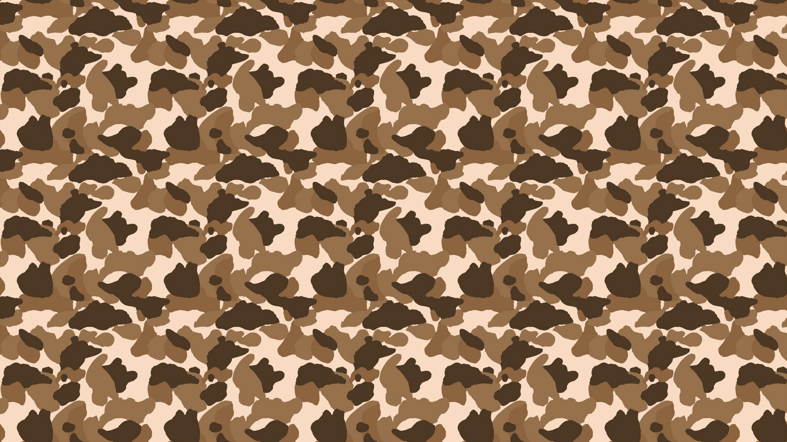 Bape Camo Brown - HD Wallpaper