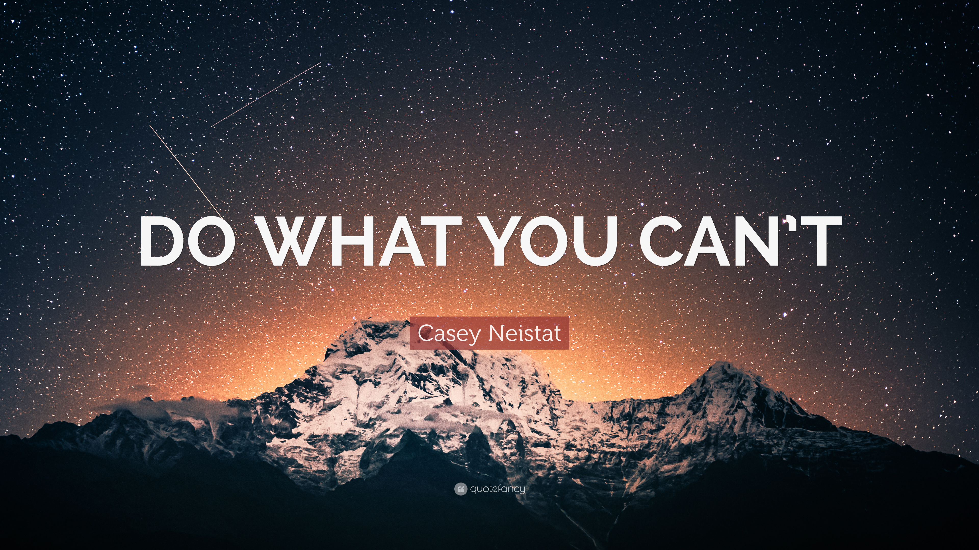 Casey Neistat Quote - If You Meditate And The Devil Comes Make The Devil - HD Wallpaper