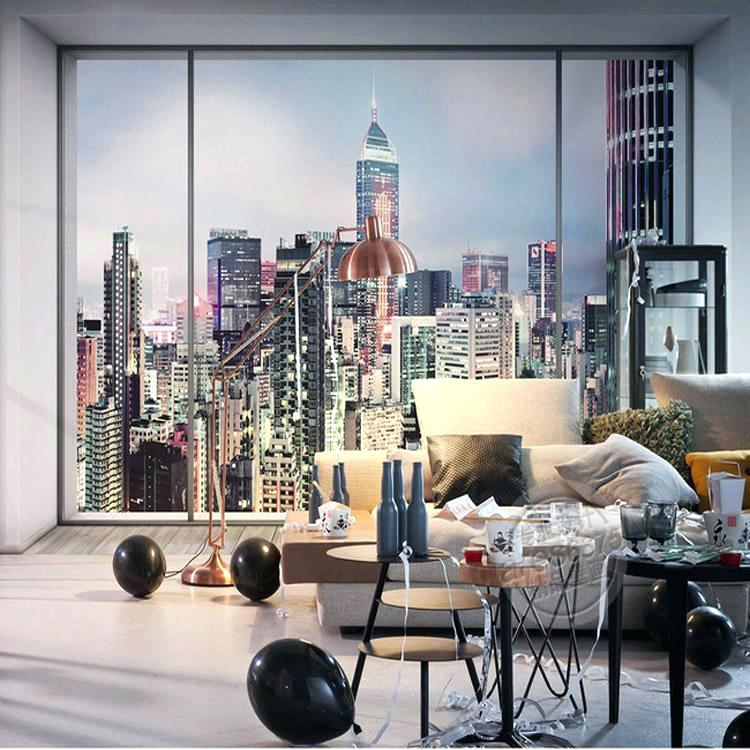 New York Wallpaper Bedroom 750x750 Wallpaper Teahub Io