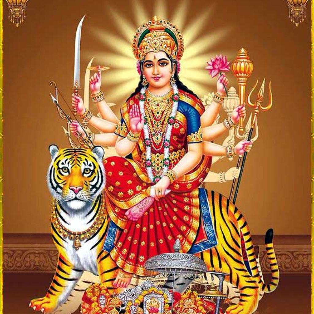 Maa Durga Image Download 1024x1024 Wallpaper Teahub Io