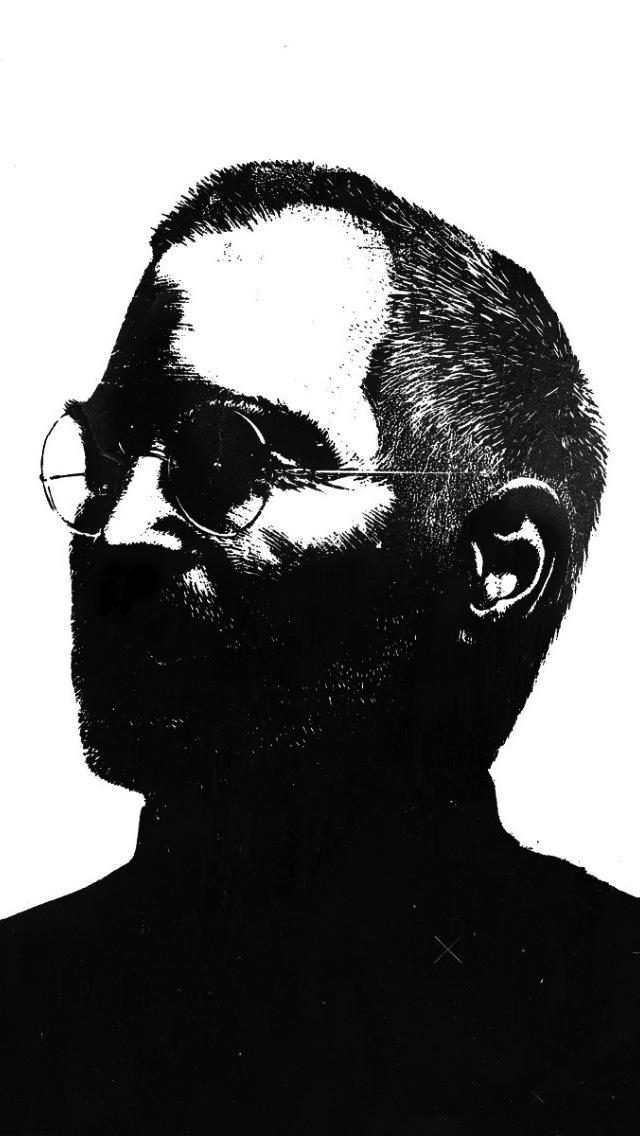 Steve Jobs Minimalist Quote - HD Wallpaper