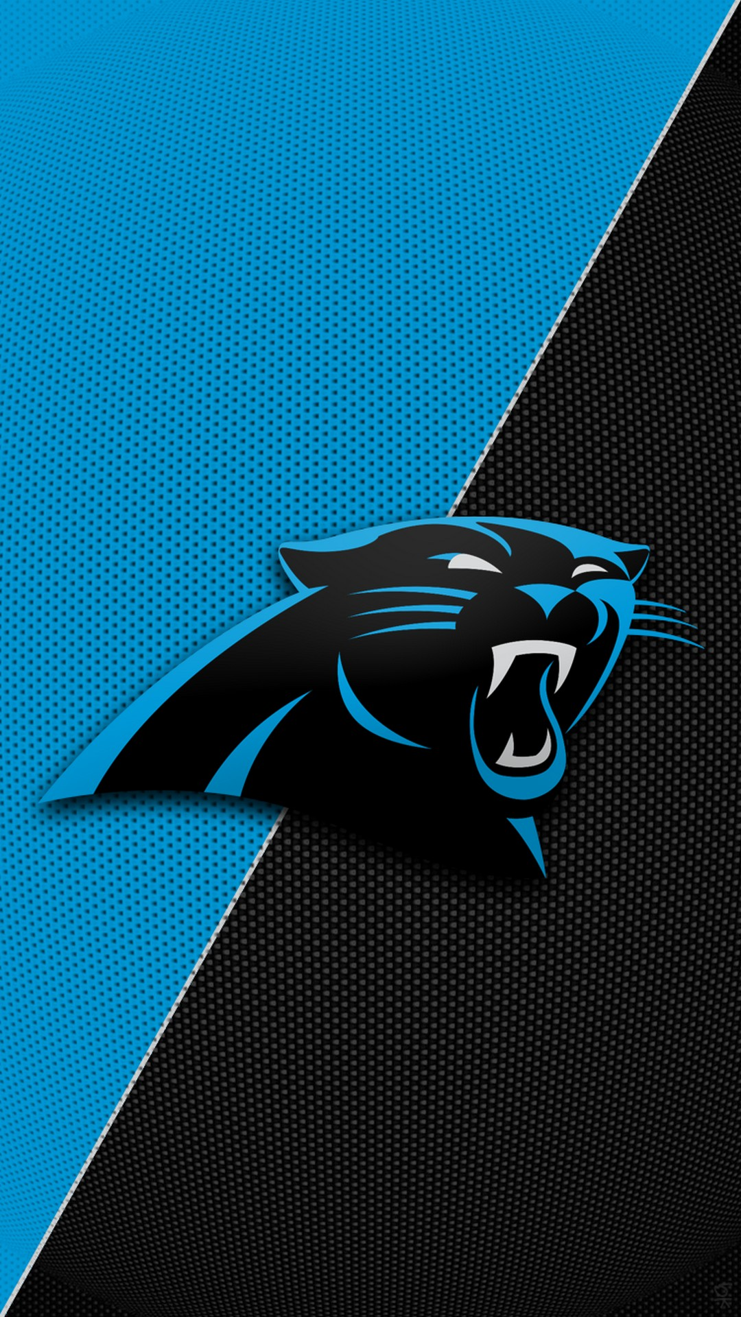 Carolina Panthers Iphone Xs Wallpaper With High-resolution ...