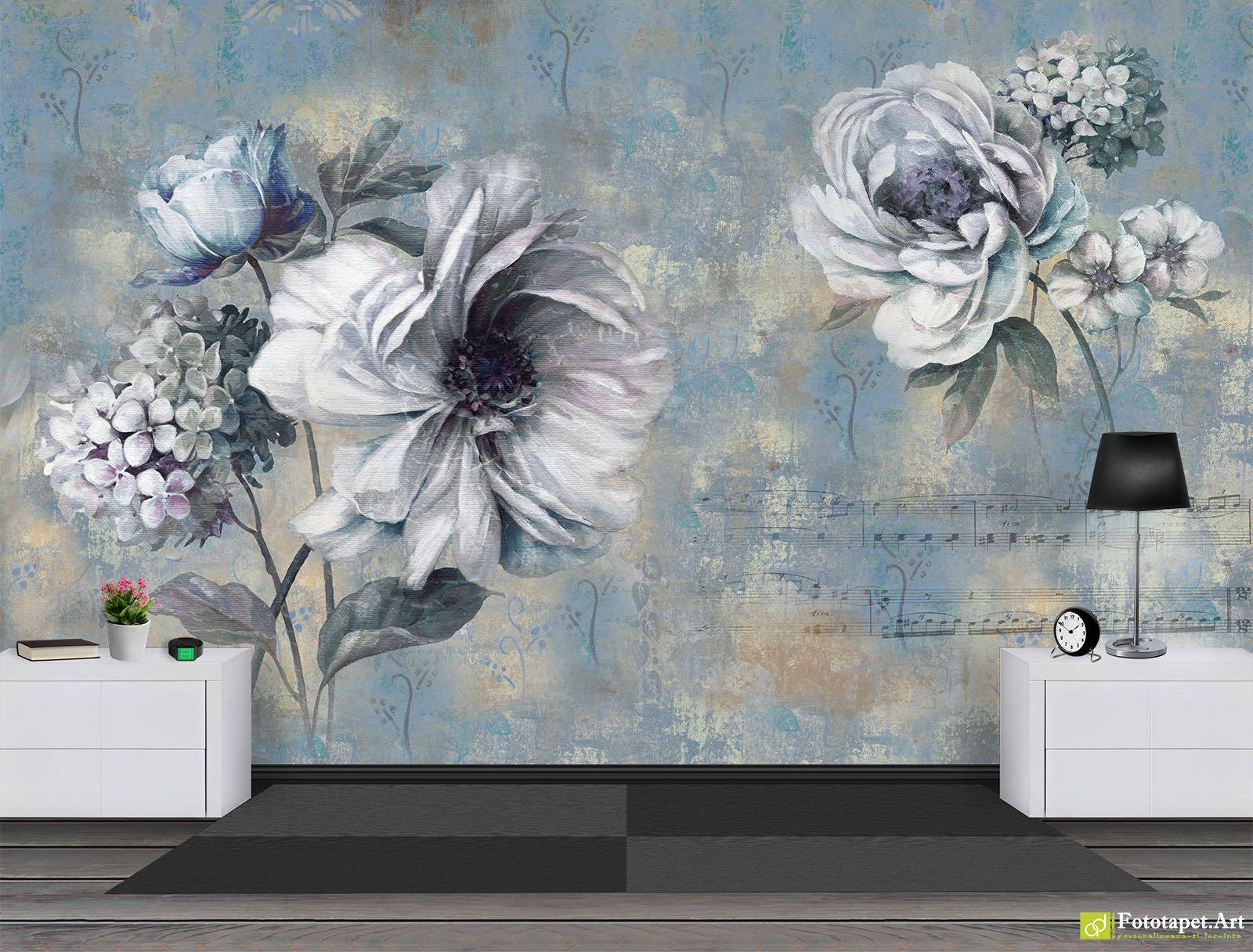 Wall Mural Vintage - HD Wallpaper