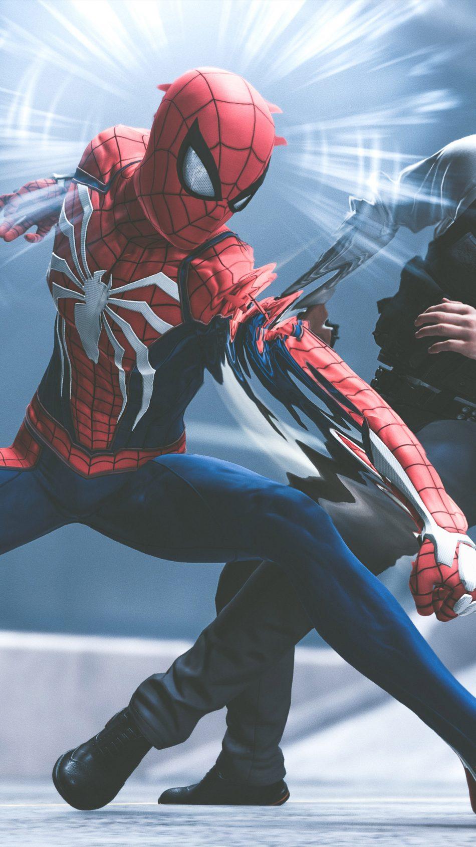 Spider Man Playstation 4 Video Game 4k Ultra Hd Mobile Spiderman Phone Wallpaper 4k 950x1689 Wallpaper Teahub Io