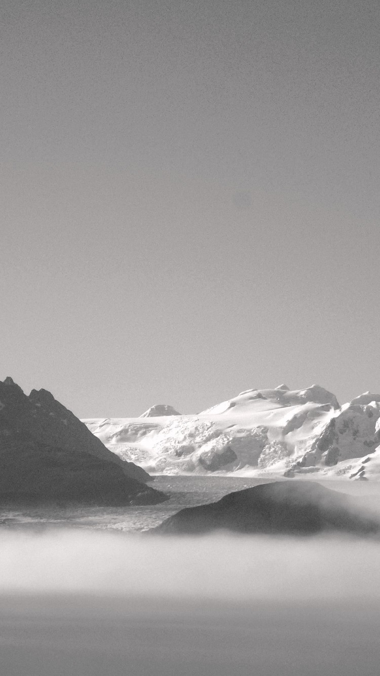 Black And White Iphone Wallpaper For Iphone 6 Mountain - Papel De Parede White Iphone - HD Wallpaper