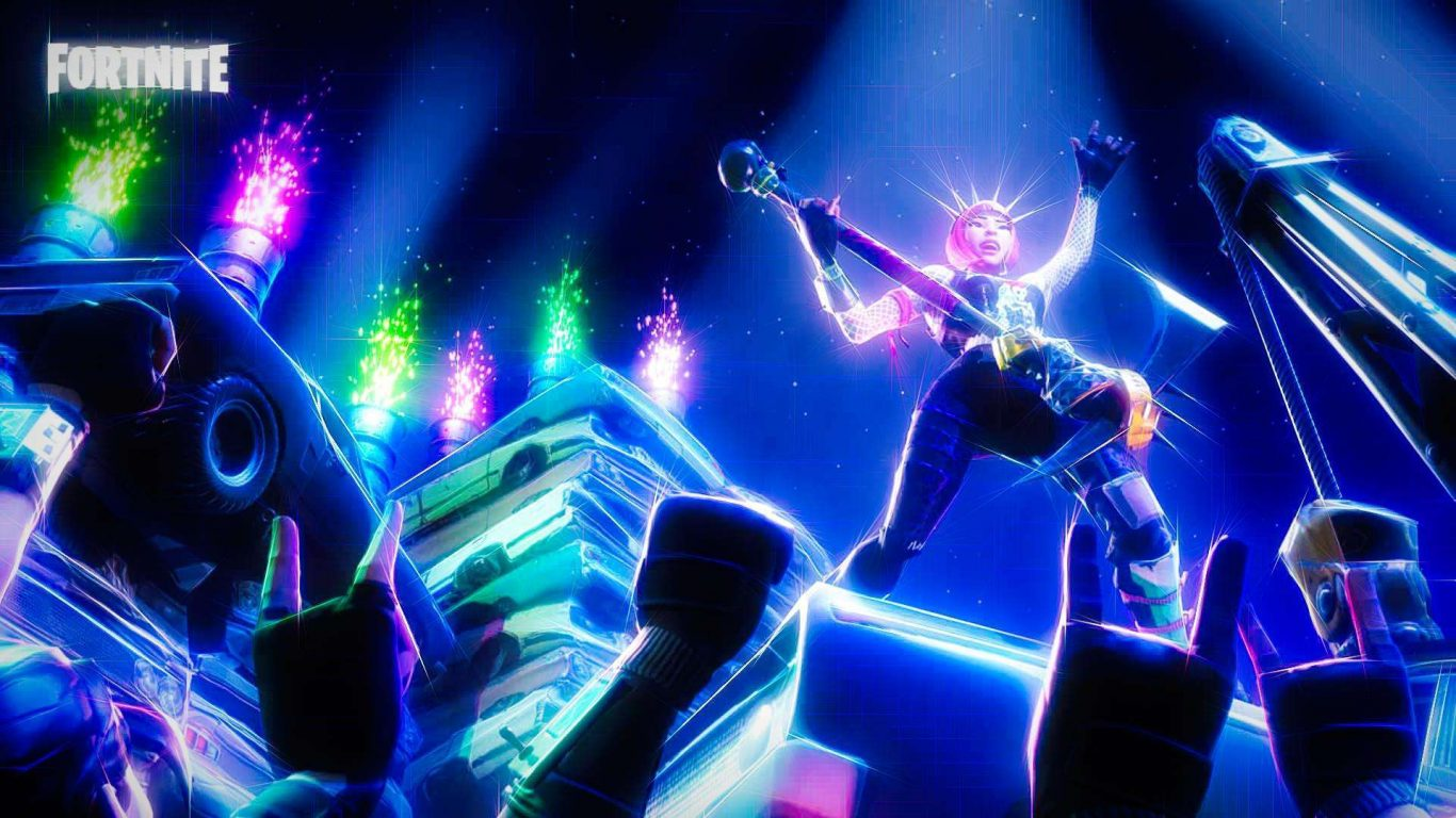 Rock N Roll Fortnite Wallpaper Cool Background Fortnite Cool 1366x768 Wallpaper Teahub Io