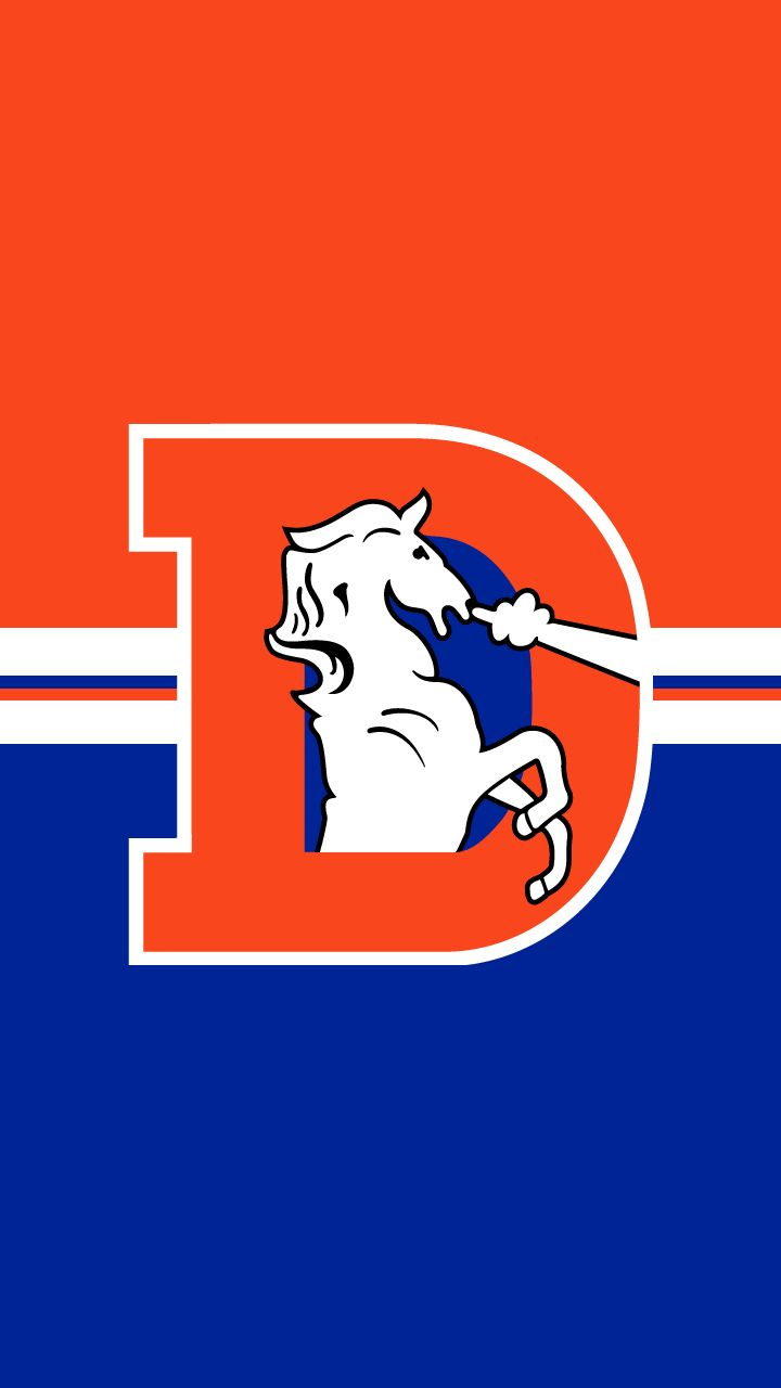 Any Iphone Wallpapers Out There Utilizing The Old Broncos - Throwback Denver Broncos Logo - HD Wallpaper