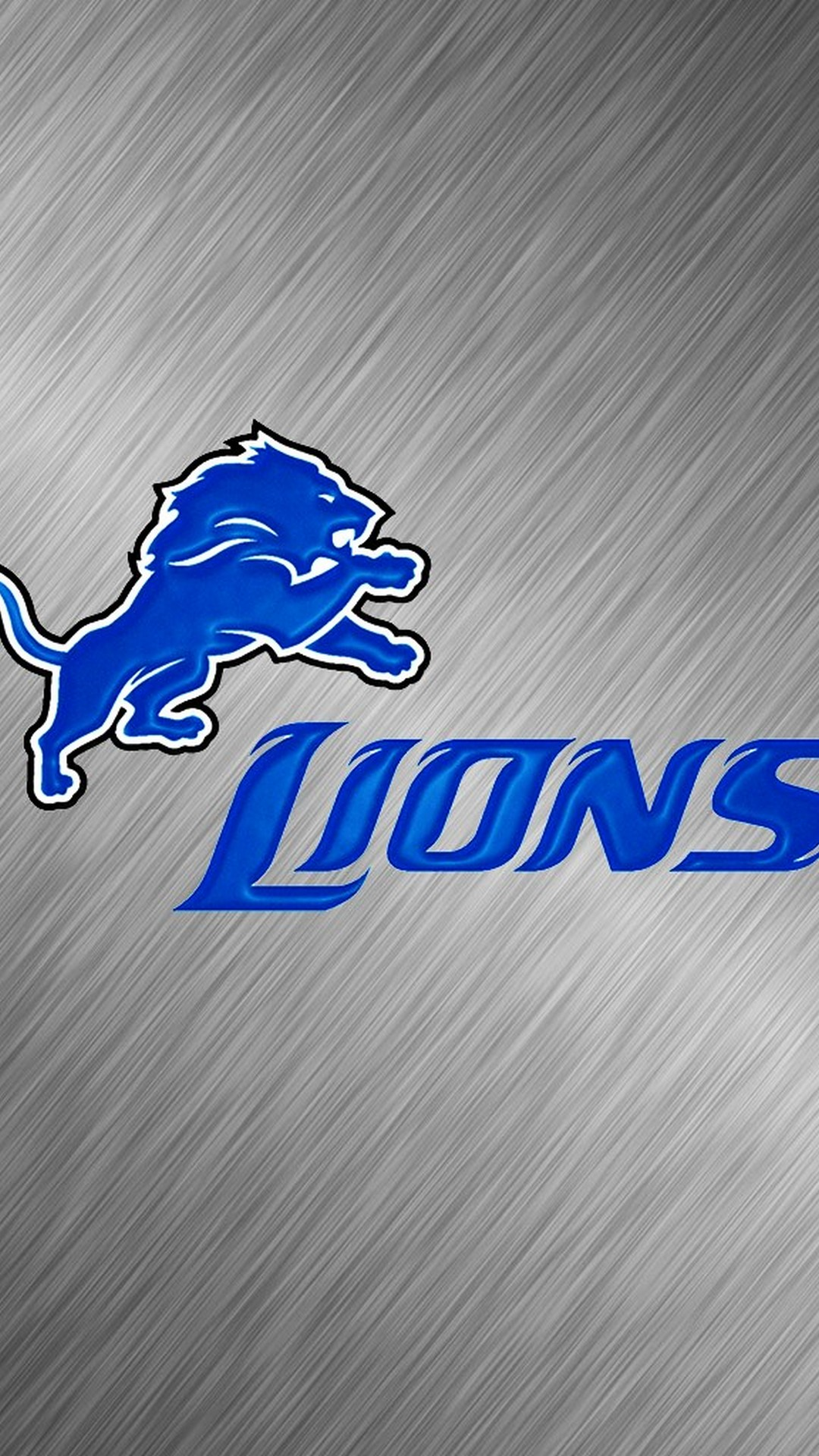 Detroit Lions Iphone Home Screen Wallpaper With High-resolution - Graphic Design - HD Wallpaper