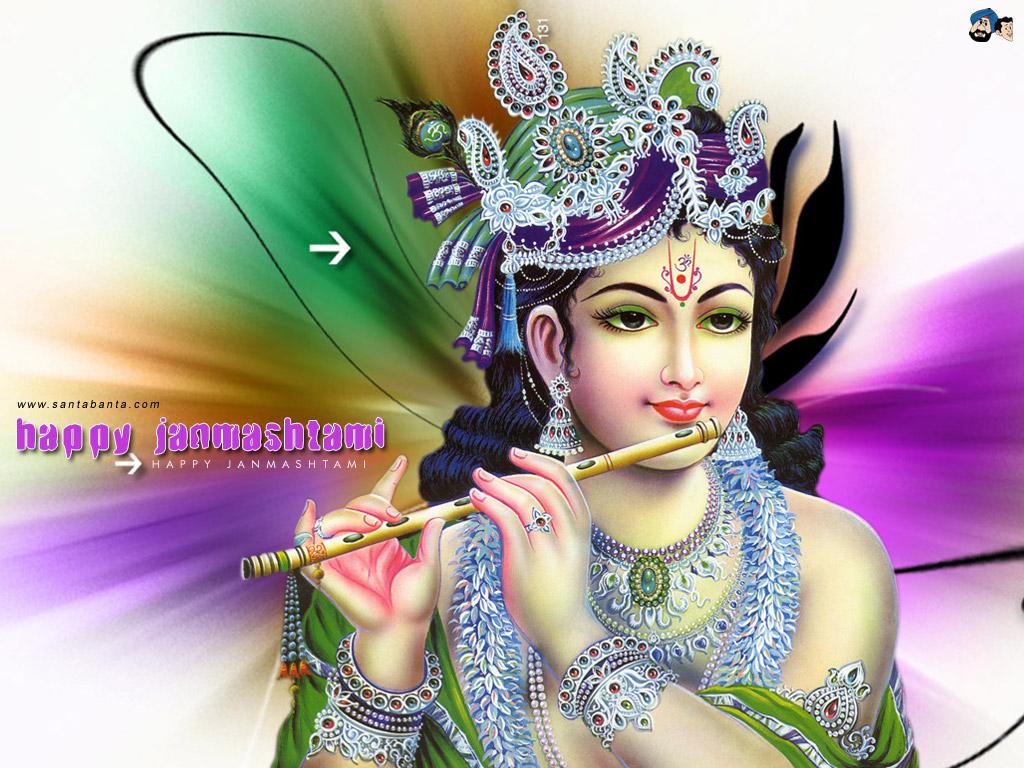 3d God Wallpaper Download - Lord Krishna - HD Wallpaper