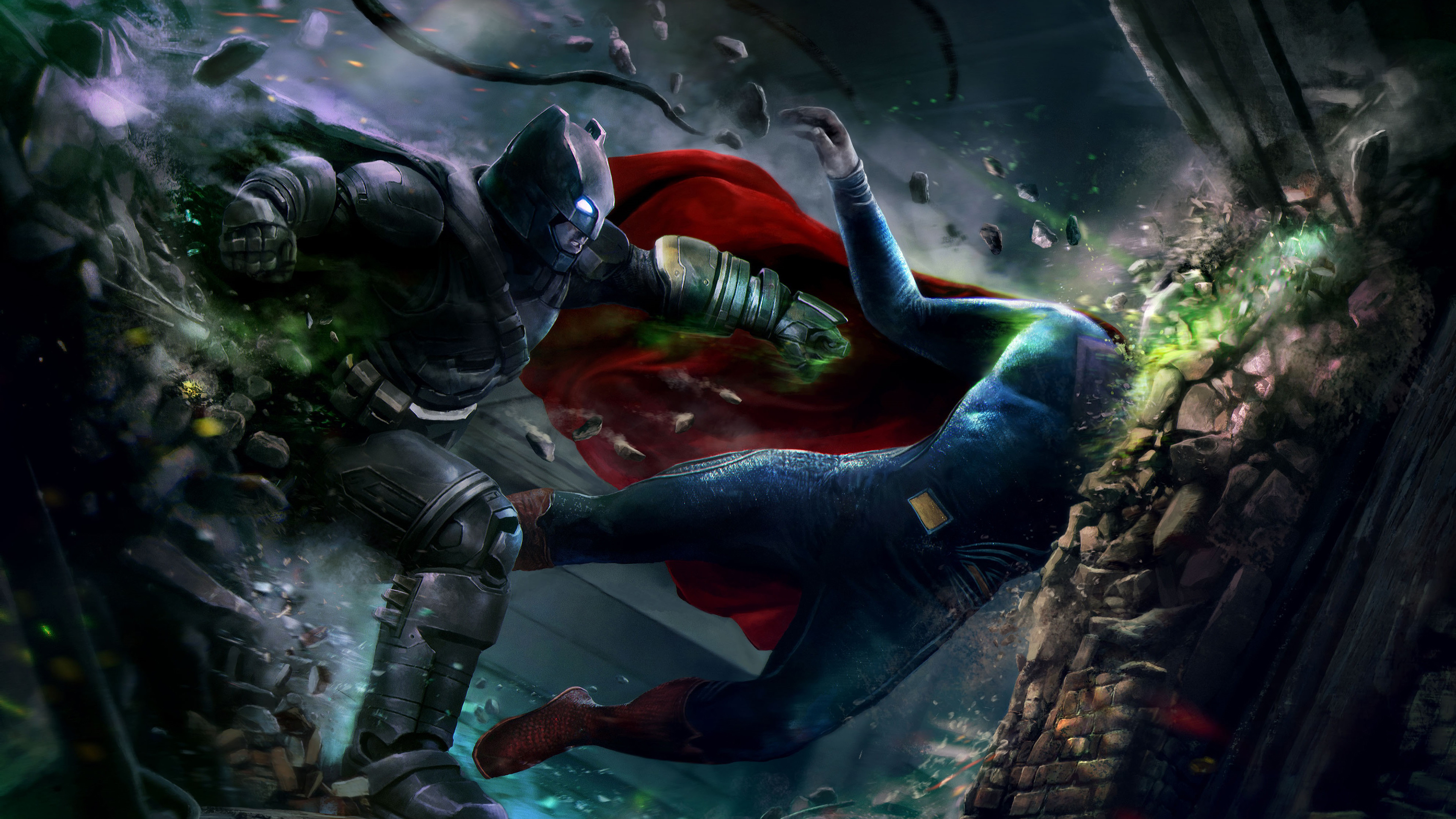 Batman V Superman 4k Wallpapers - Batman Vs Superman Wallpaper 4k - HD Wallpaper