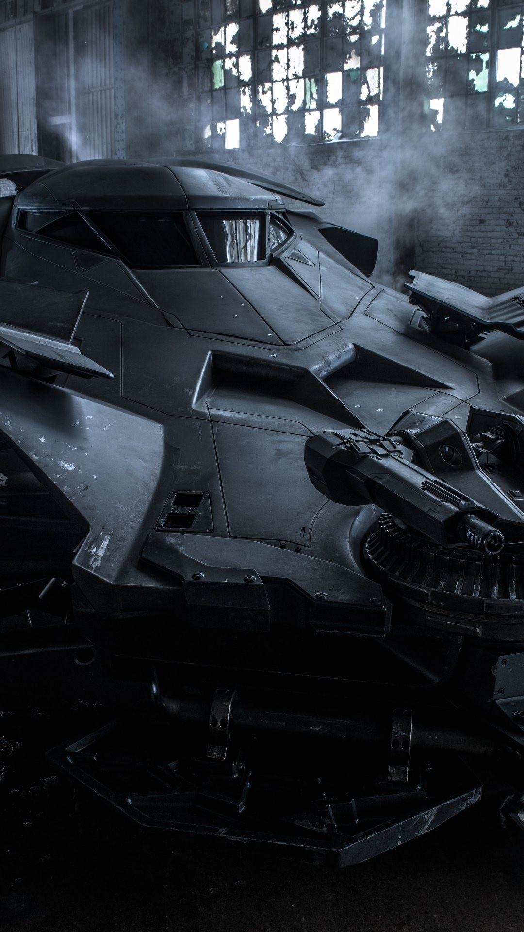 Batmobile In Batman Vs Superman - HD Wallpaper