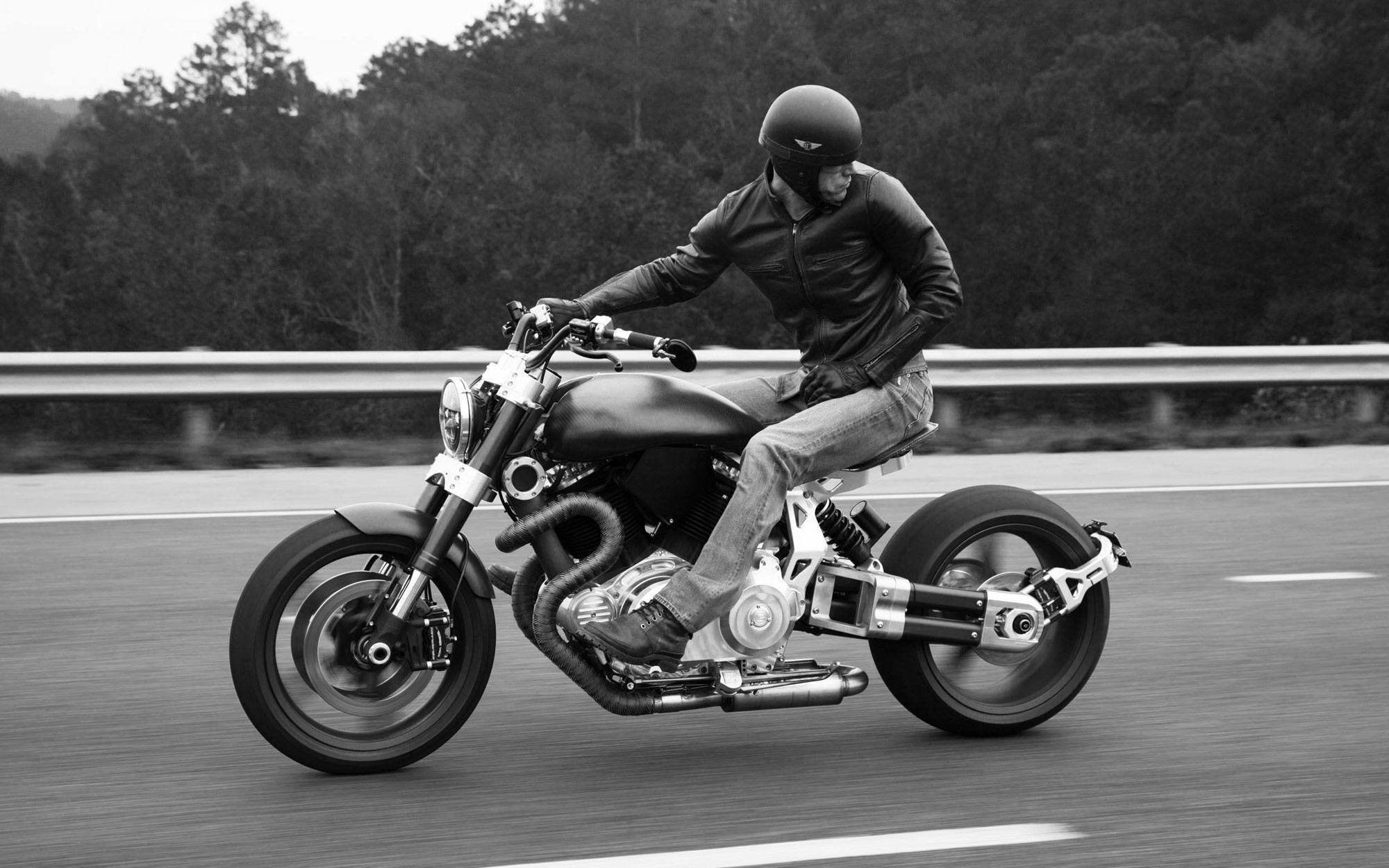 2000x1251, Confederate Motorcycle Superbike Custom - Confederate Motorcycles X132 Hellcat - HD Wallpaper