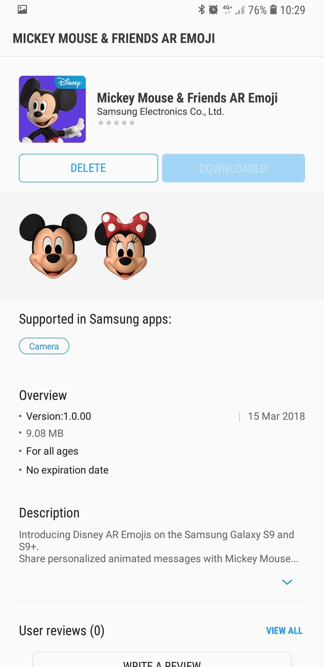 Ar Emoji App Store - 1080x2220