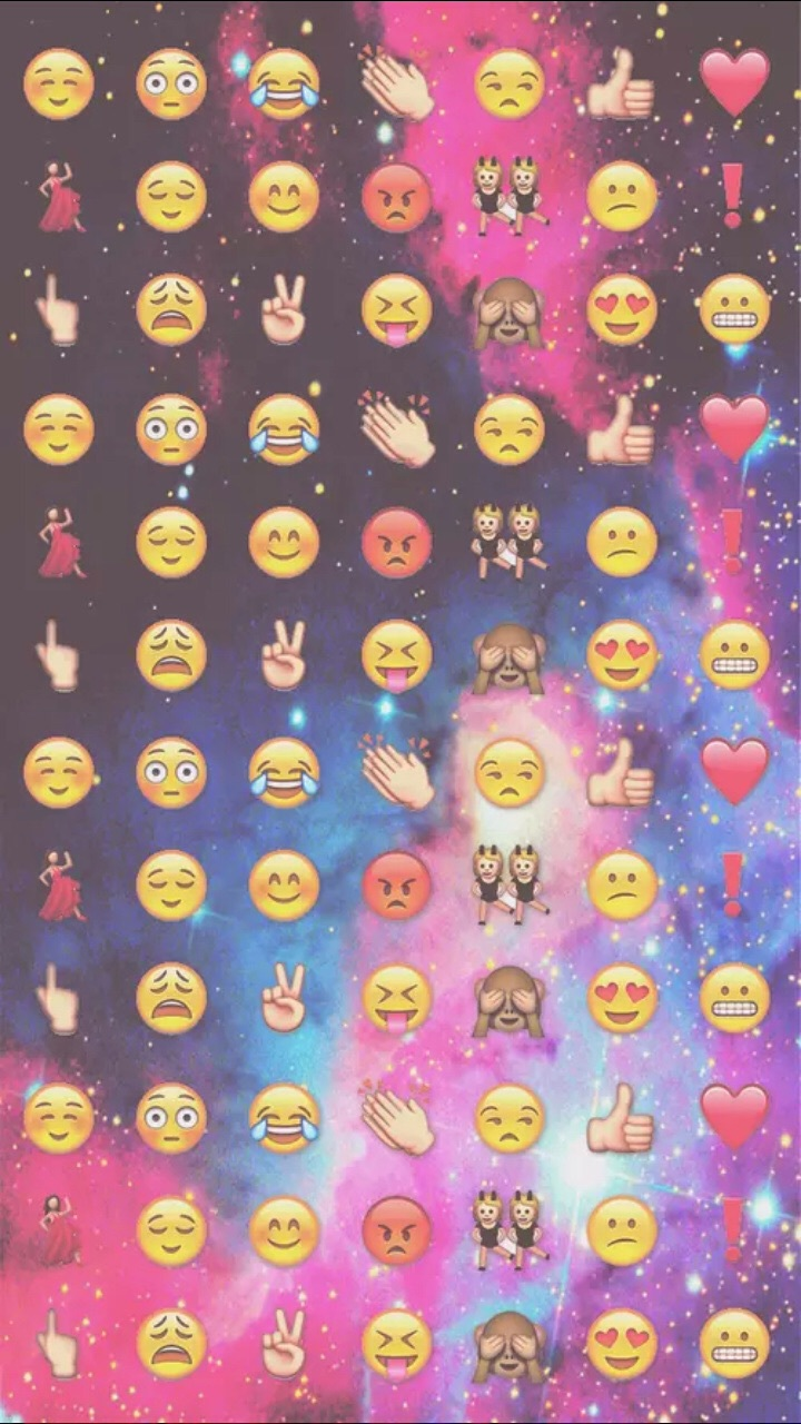 Emoji Wallpaper And Galaxy Image Emoji Wallpaper Iphone 720x1280 Wallpaper Teahub Io