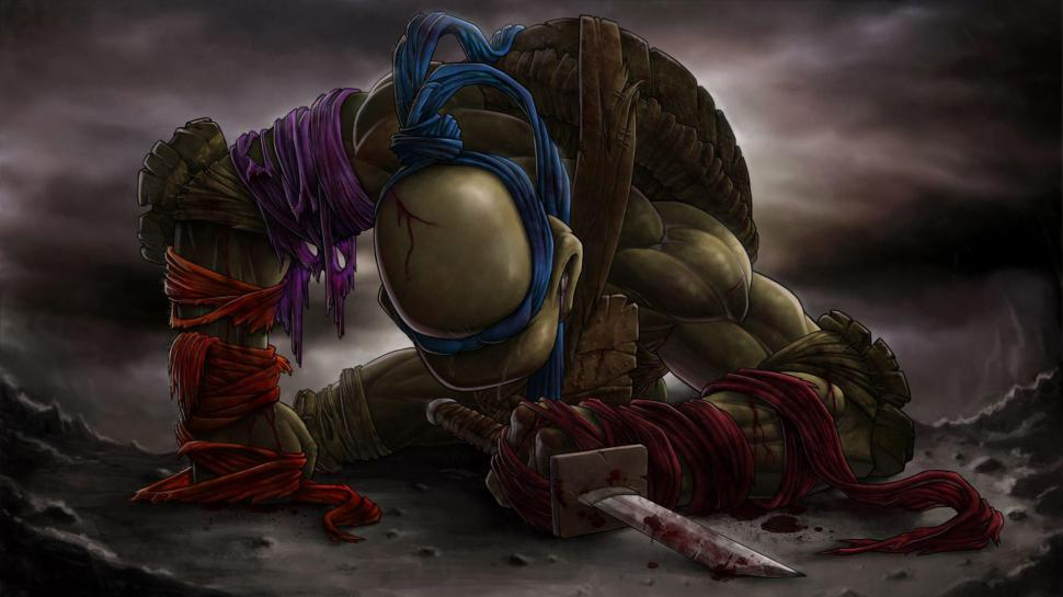Teenage Mutant Ninja Turtles Wallpaper Cartoons Hd Leonardo