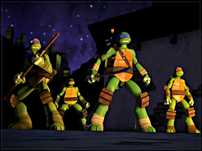 ★ Tmnt ☆ - Teenage Mutant Ninja Turtles Wallpaper 2012 - HD Wallpaper