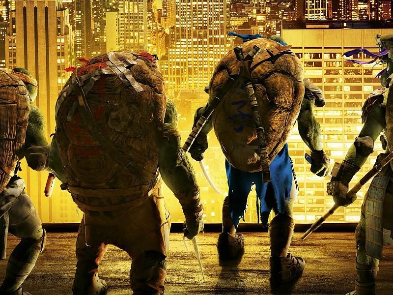 Tmnt 2014 Teenage Mutant Ninja Turtles Wallpaper - Teenage Mutant Ninja Turtles 2014 - HD Wallpaper