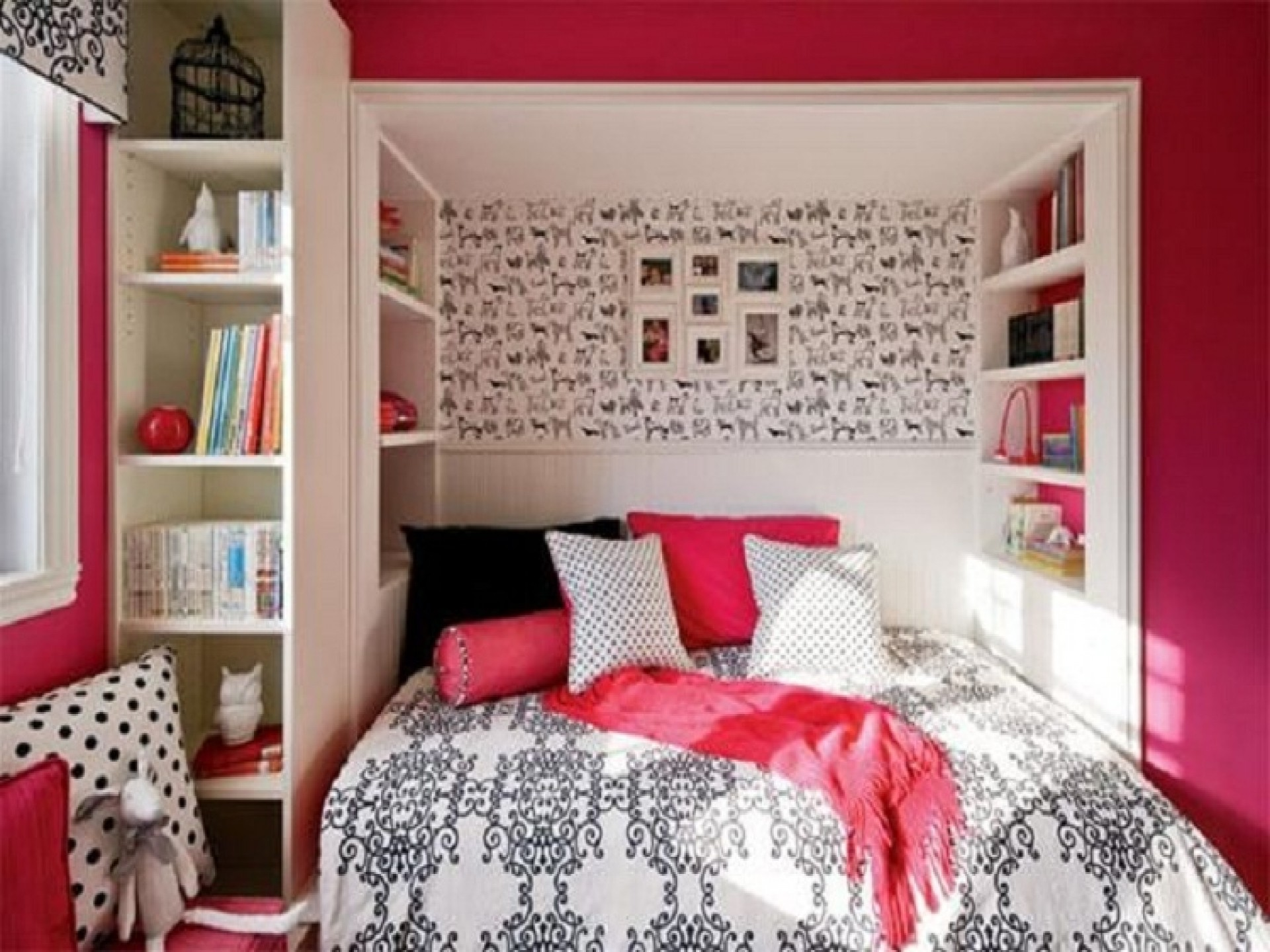 Teenage Girl Room Decorating Ideas Decorating Ideas - Small Bedroom Designs For Women - HD Wallpaper