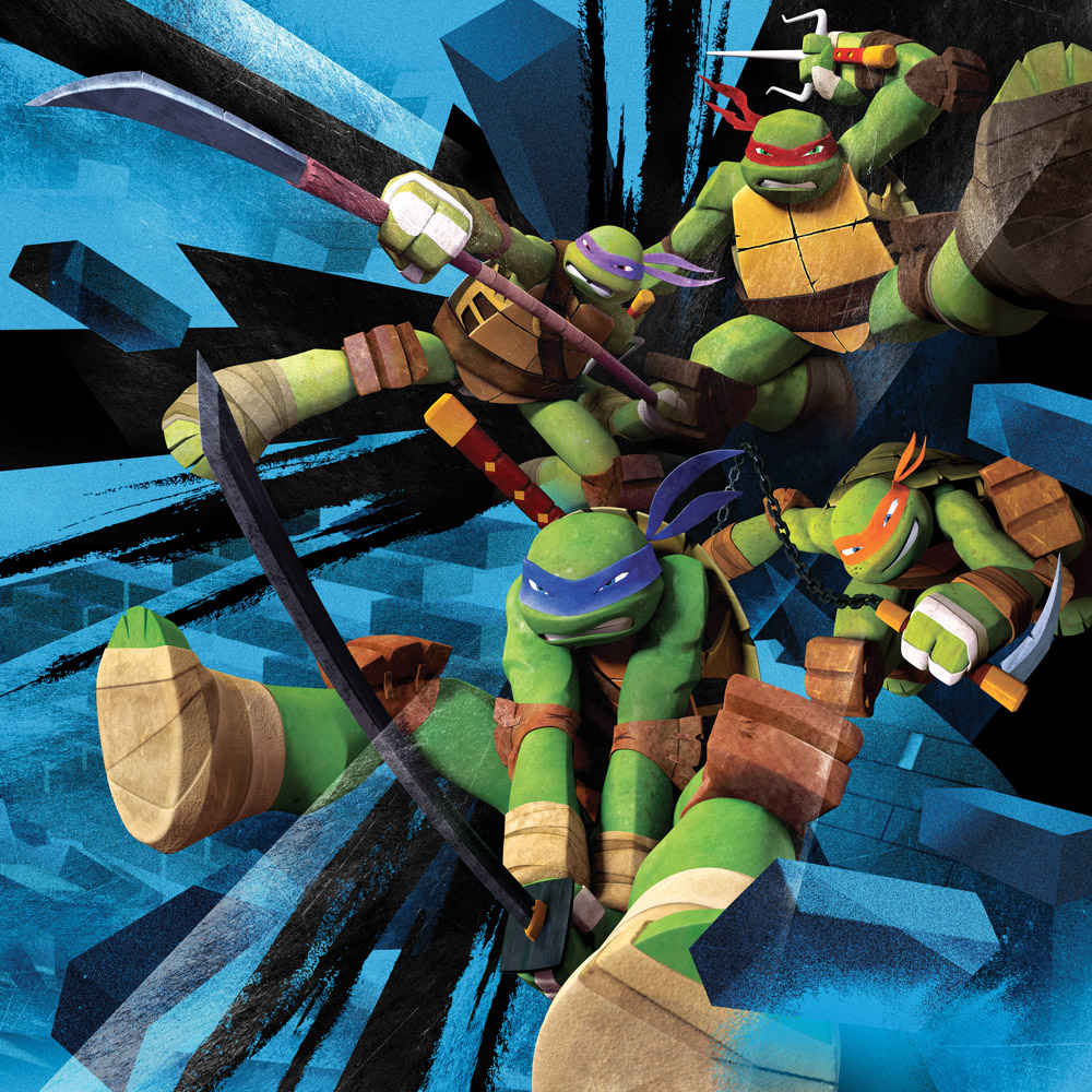 Teenage Mutant Ninja Turtles On Nickelodeon - Shredder Teenage Mutant Ninja Turtles Splinter - HD Wallpaper