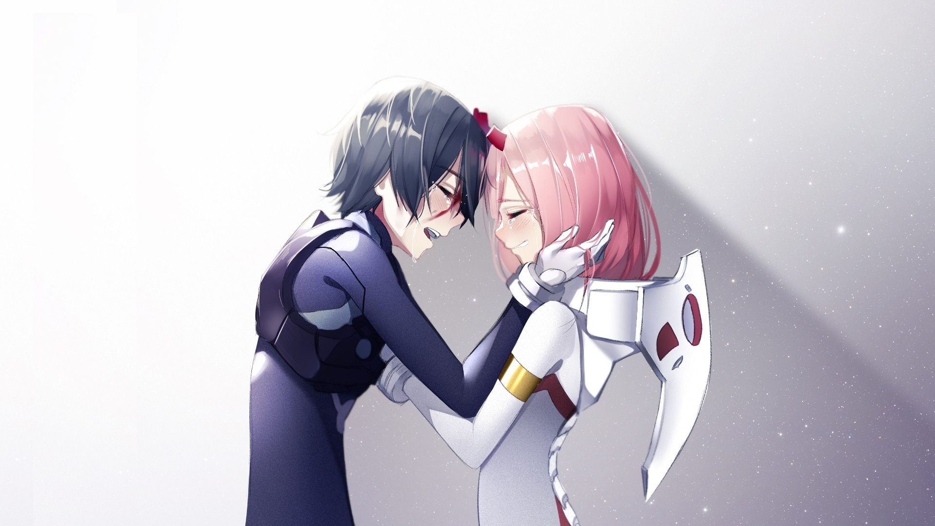 271 2718283 zero two and hiro anime couple wallpaper zero