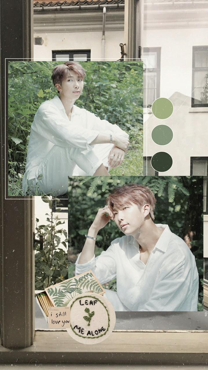 Aesthetic, Edit, And Kpop Image - Namjoon Wallpaper Aesthetic - HD Wallpaper