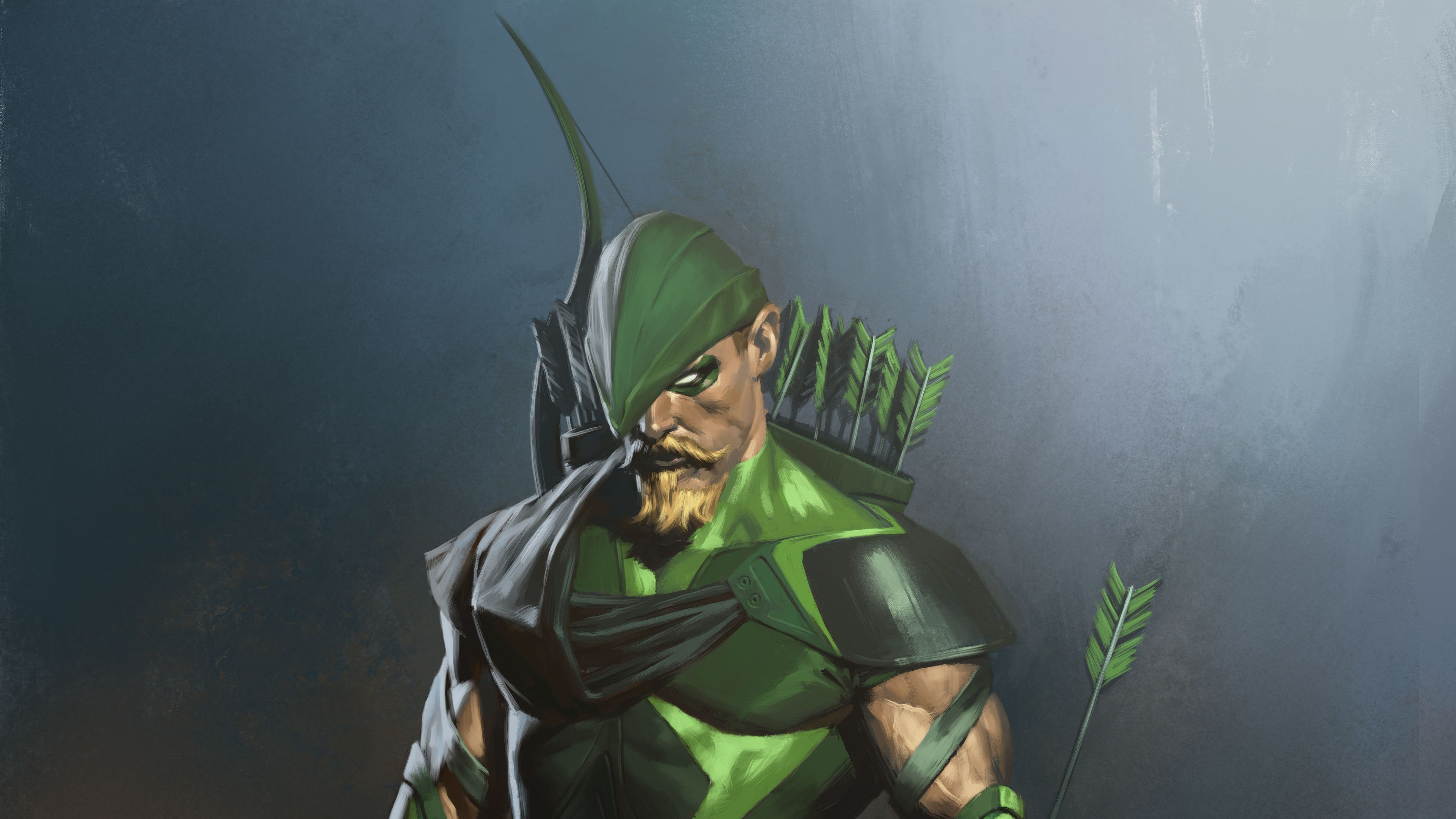 Green Arrow Injustice 2 Art 4k - Green Arrow Injustice 2 Comic - HD Wallpaper