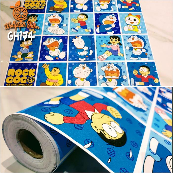Stiker Dinding Kamar Gambar Doraemon - HD Wallpaper