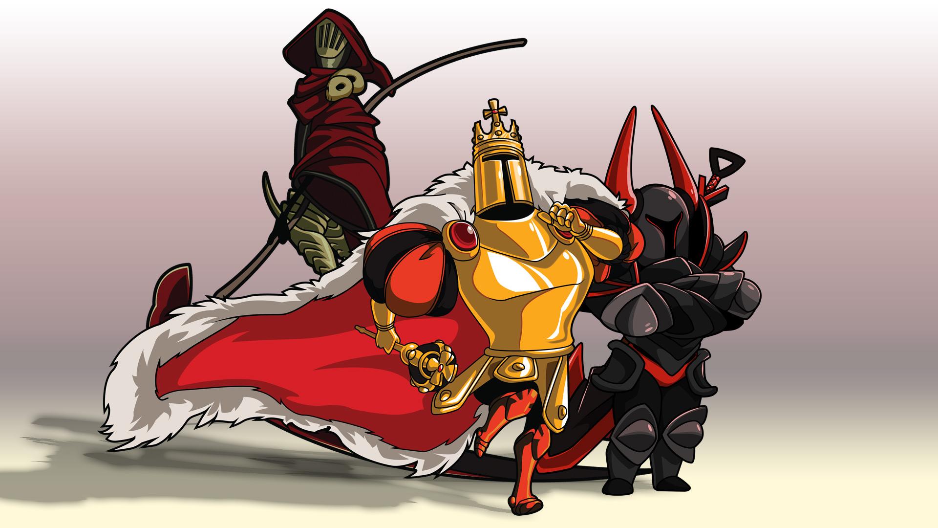 Shovel Knight And Black Knight 1920x1080 Wallpaper Teahub Io