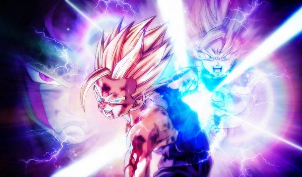 Dragon Ball Z Kamehameha Wallpaper Son Gohan Kamehameha Pere Fils 1024x600 Wallpaper Teahub Io