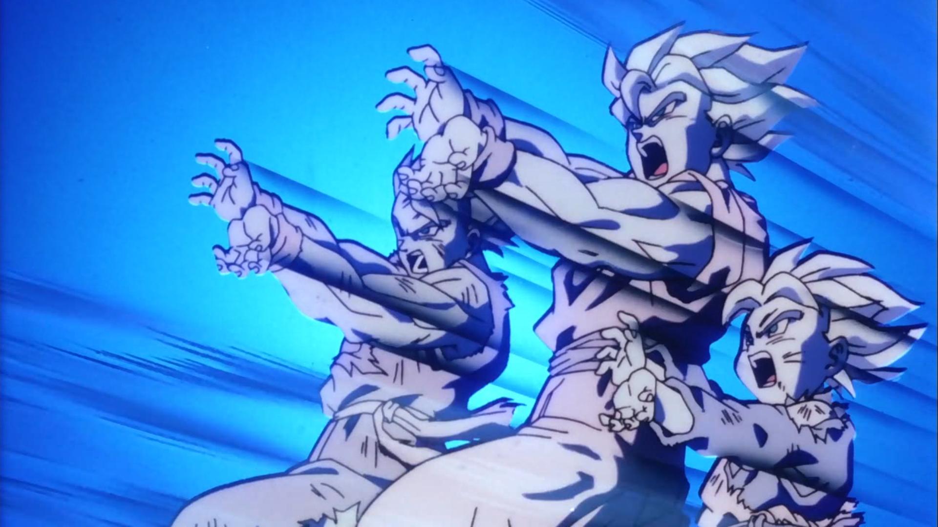 Father And Son S Goku Gohan Y Goten Kamehameha 1920x1080 Wallpaper Teahub Io