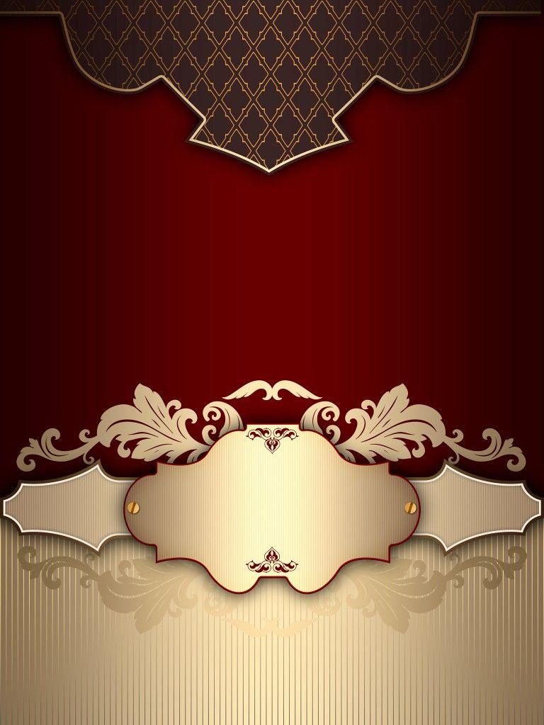 Background Muslim Wedding Card Design 768x1024 Wallpaper Teahub Io
