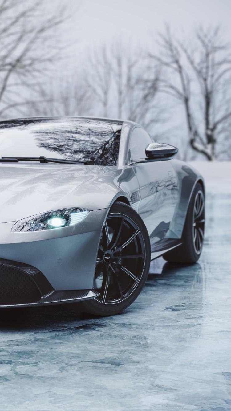 Aston Martin Vantage Iphone 750x1334 Wallpaper Teahub Io