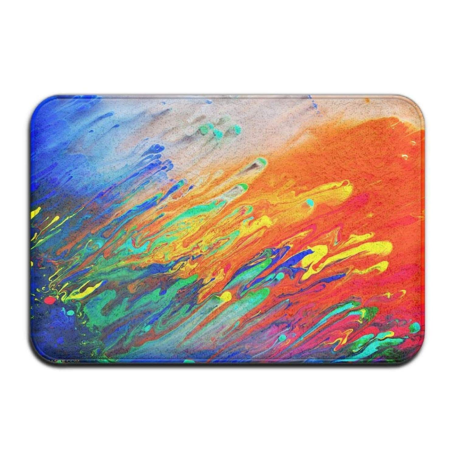 Colorful Abstract Acrylic Painting - HD Wallpaper