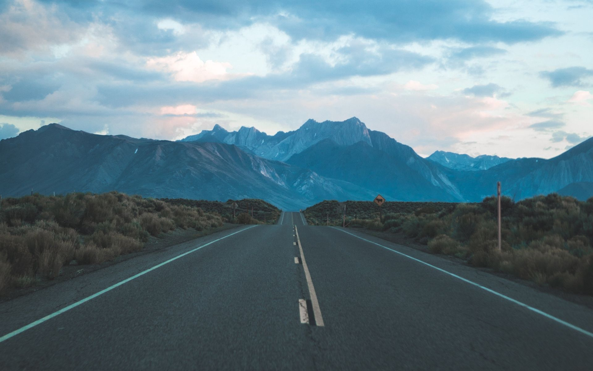 Mountain Road Background 1920x1200 Wallpaper Teahub Io