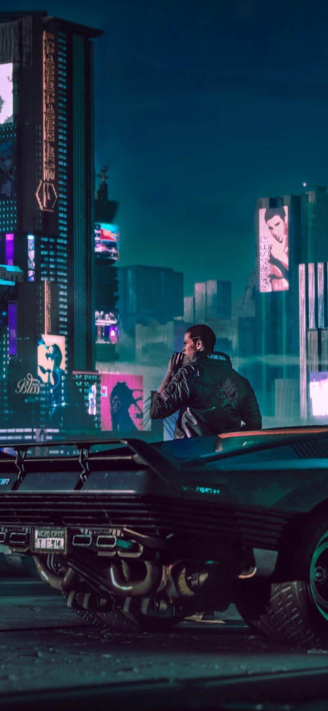 Cyberpunk 2077 Wallpaper Phone - 1125x2436 Wallpaper ...